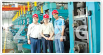 China's First Broad Steel Sheet Pile Equipment